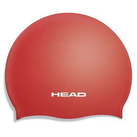 Head Silicone Flat Cap Barn red
